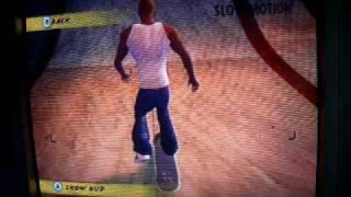 Wii Skate It Double Backflip