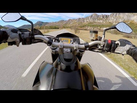 KTM 950 SM   Saint Vallier/Castellane   50 km - 30 mn