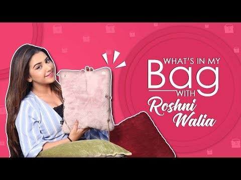 What's In My Bag With Roshni Walia | Bag Secrets Revealed | Exclusive
