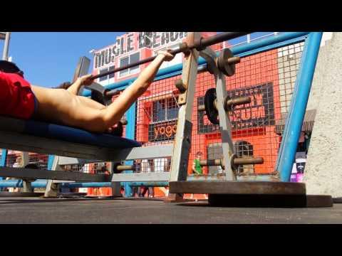 Training   Musclebeach, CA & Santa Monica Pier