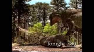 "ABC TV - Promo for ""Walking With Dinosaurs"" + Signpost (21/11/1999) thumbnail"