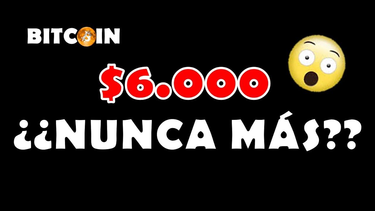 Bitcoin ¿$6.000 NUNCA MÁS? | ¡LITECOIN cumpliendo el PRIMER TARGET!