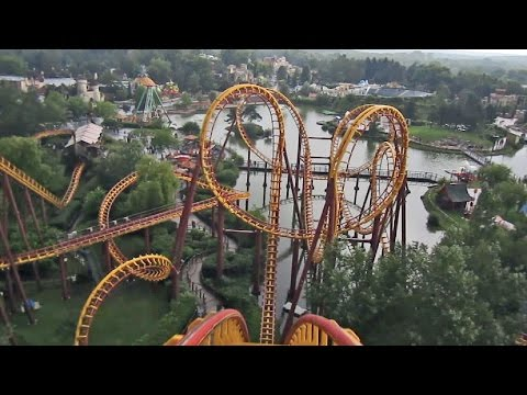 Goudurix Front Seat On-ride HD POV Parc Astérix
