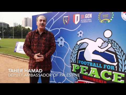 Palestine to Football For Peace Indonesia