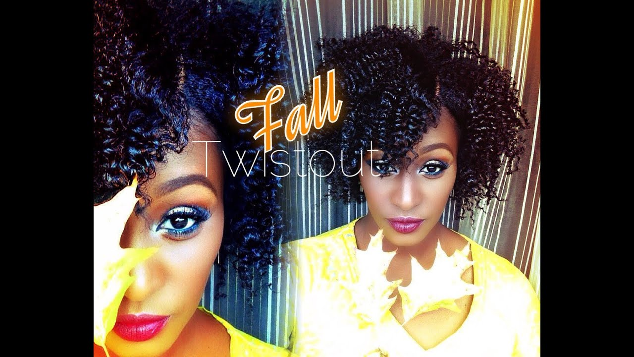 The Perfect Fall Twist Out on short\medium length 4b Natural Hair ...