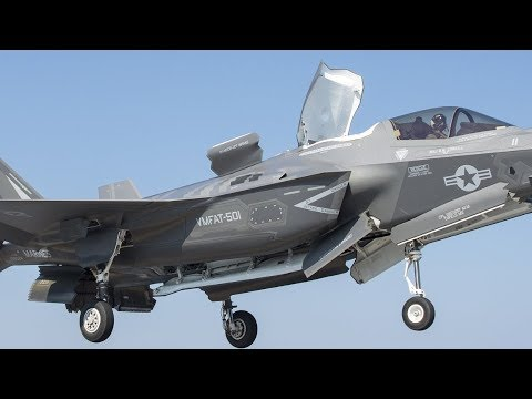 F-35B Lightning II CARRIER QUALIFICATIONS! (Short takeoffs and vertical landings HD footage!)