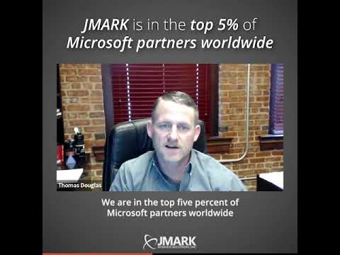 JMARK is in the Top 5% of Microsoft Partners Worldwide