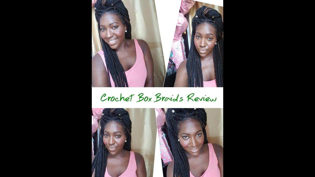 Honest Review/Thoughts Model Model Crochet Box Braids - YouTube