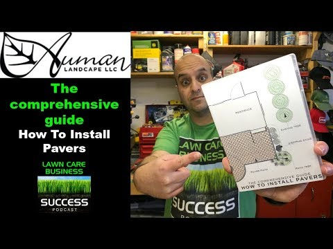 Auman Landscape Comprehensive Guide How To Install Pavers 2 DVD Set Course