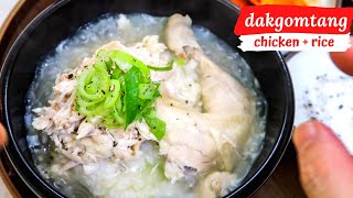 How to: Dak Gomtang - Korean Chicken Soup For the Soul!