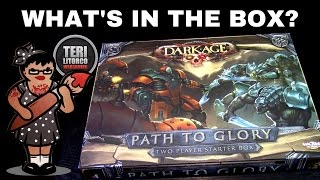 Unboxing Dark Age's Path to Glory (CMON Games)