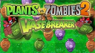 EPIC VASEBREAKER MINIGAME! | Plants Vs Zombies 2