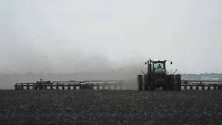 John Deere 9430 Pulling Db120 48 Row Planter!