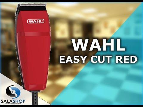 8b49e76ea Unboxing Apresentação Máquina de Cortar Cabelo Wahl Easy Cut Red ...