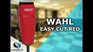 ea6f3c8dd Unboxing Apresentação Máquina de Cortar Cabelo Wahl Easy Cut Red