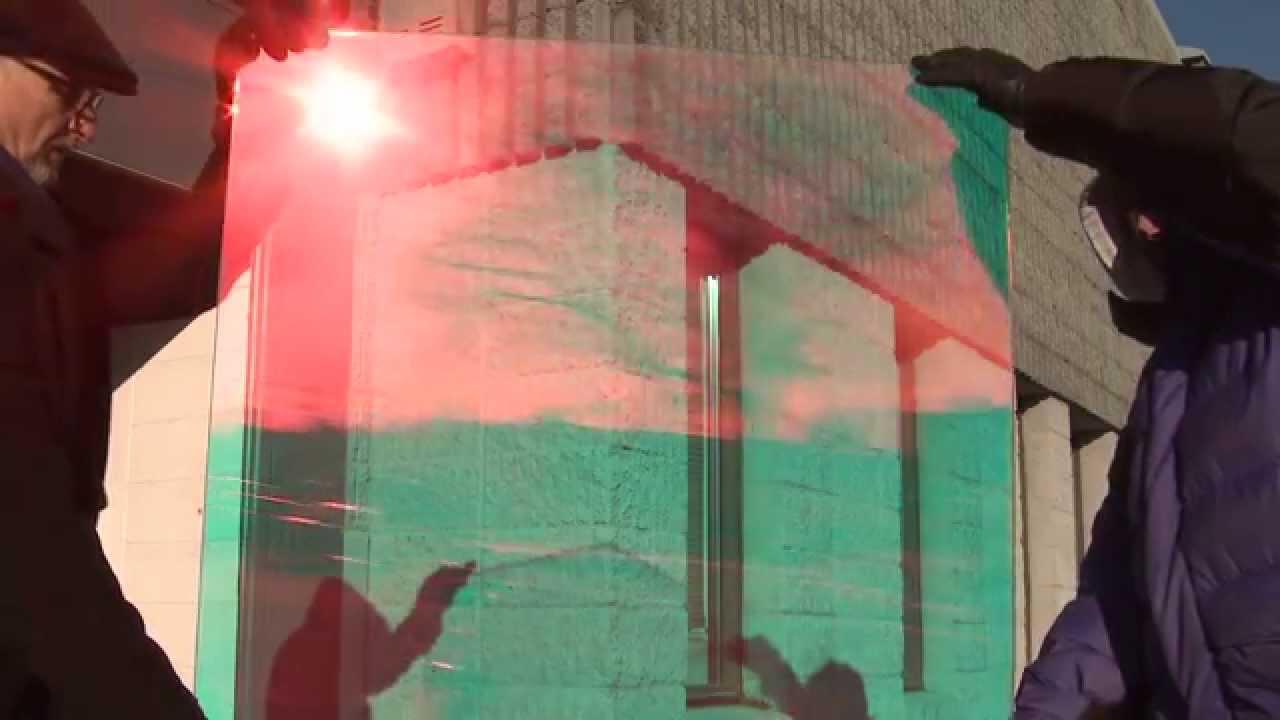copper bronze dichroic window film by 3m