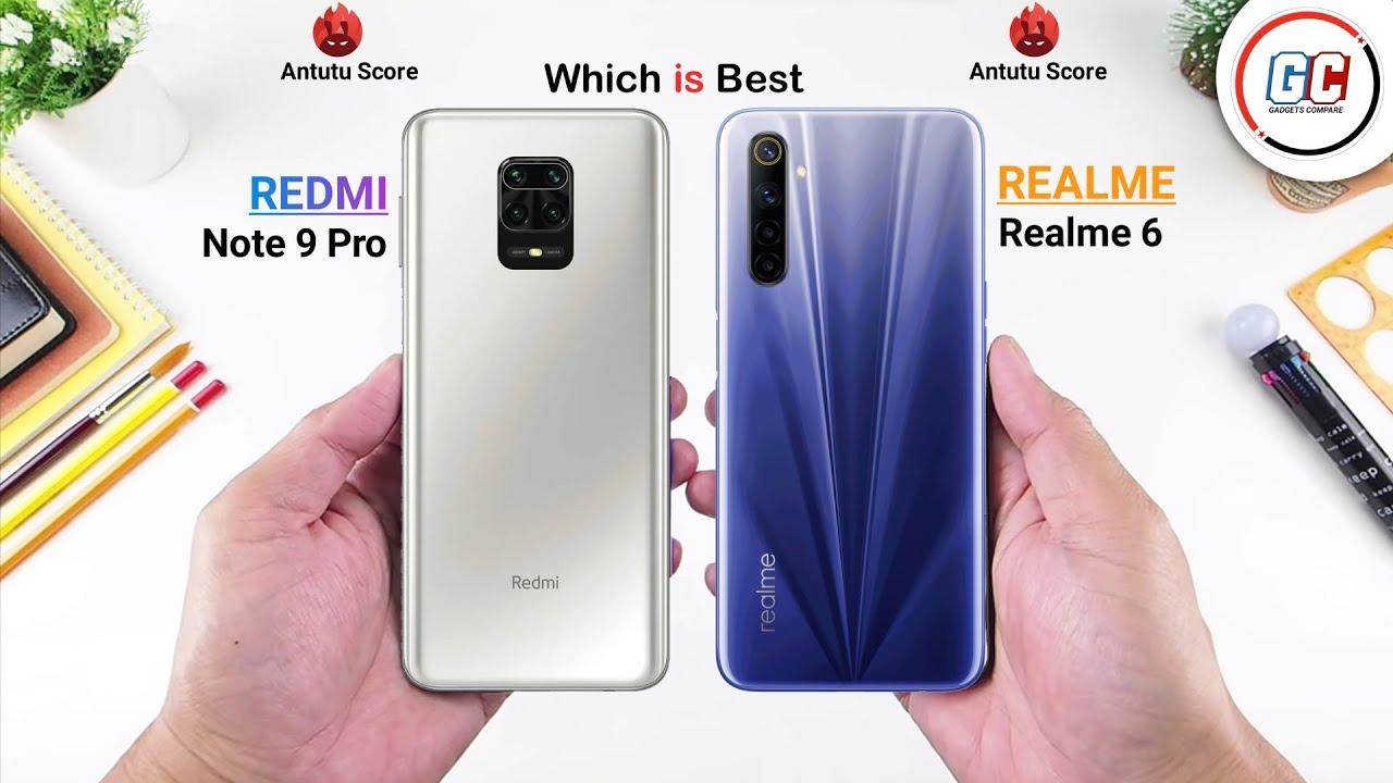 Redmi Note 9 Pro vs Realme 6 || Full Comparison || Which is Best.
