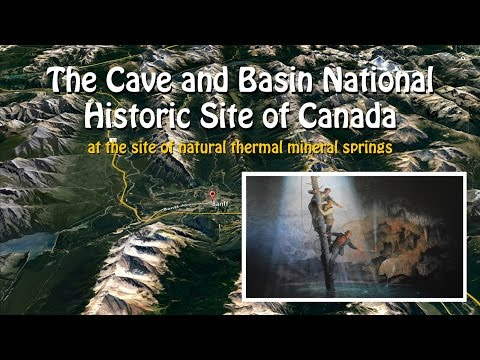 Banff, Canada, Hot Springs Cave/mineral springs