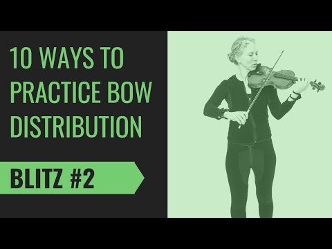 Extreme Saving - Violin Bowing Practice Technique