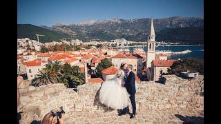 Обзорный ролик свадьба Черногория