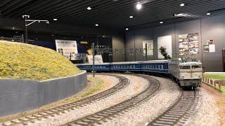 【HOゲージ鉄道模型】追憶のステンレス(EF81銀釜+14系14形寝台車)