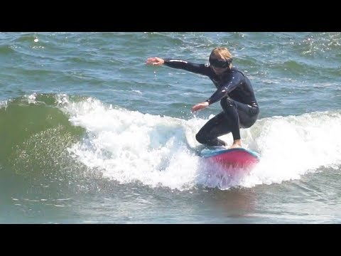 SURFING IN A BLIND FOLD