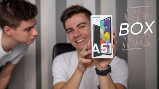 Galaxy A51, ¡Unboxing y primeras impresiones!