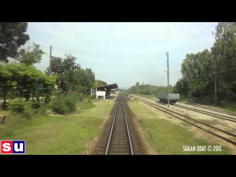 Bangkok to Surat Thaani train journey | Bangkok (7/7) | THAILAND #19