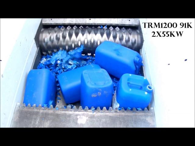 1 Trituratore TRM1200 91K 2x55kw  Shredder TRM1200 91K 2x55kw