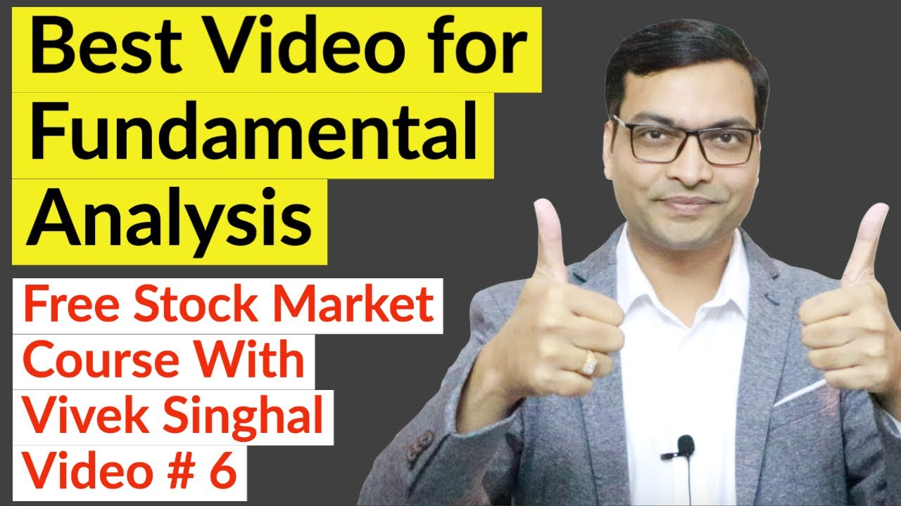 Best Video for Fundamental Analysis
