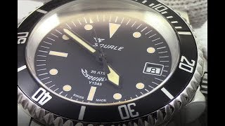 squale 1545 200m heritage the best automatic swiss diver watch