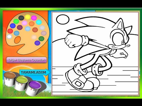 Sonic The Hedgehog Coloring Pages For Kids Sonic The Hedgehog