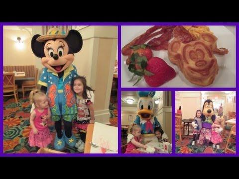 Character Breakfast at Cape May Cafe! ♥ Disney World Vacation (November 2, 2014)