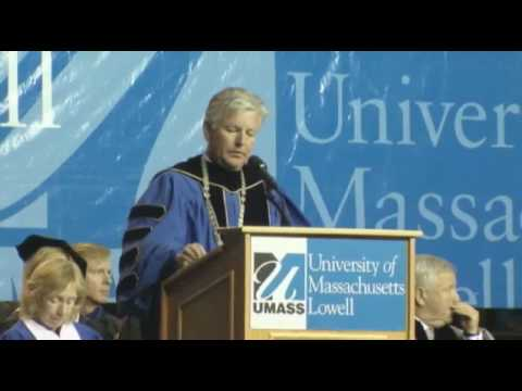 UMass Lowell Chancellor Marty Meehan 2010 Commence...