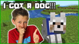 I GOT A DOG!!!