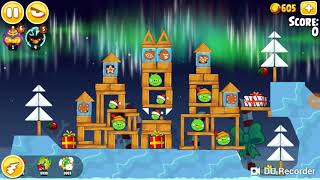 Three staring winter wonder ham (angry birds seasons) part 2