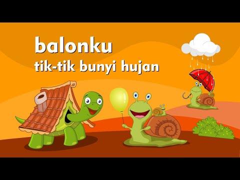 Balonku Ada Lima - Tiktik Bunyi Hujan - Lagu Anak Indonesia Populer