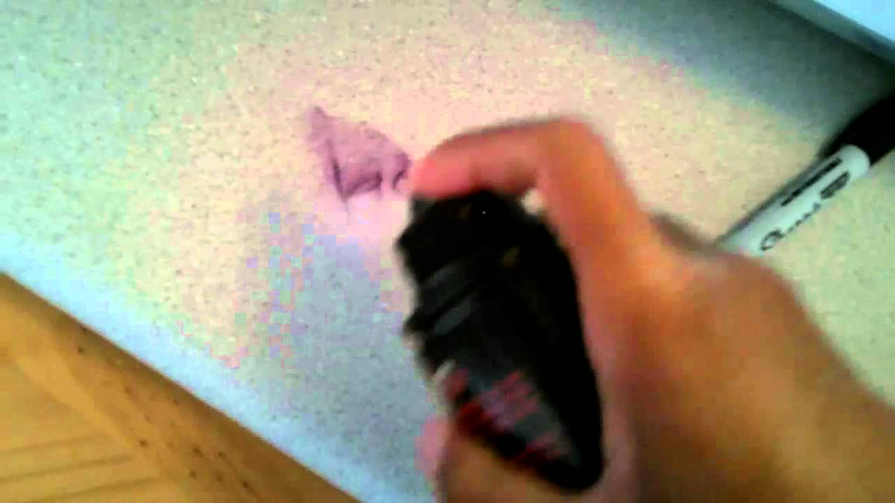How To Remove Sharpie From Countertop Remove Permanent Marker From Counter