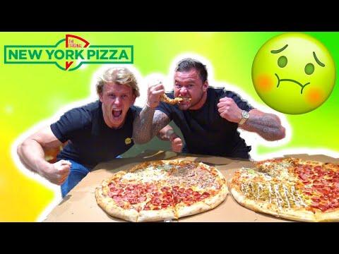4 KG MEGA PIZZA CHALLENGE | WUTRU vs. REMY