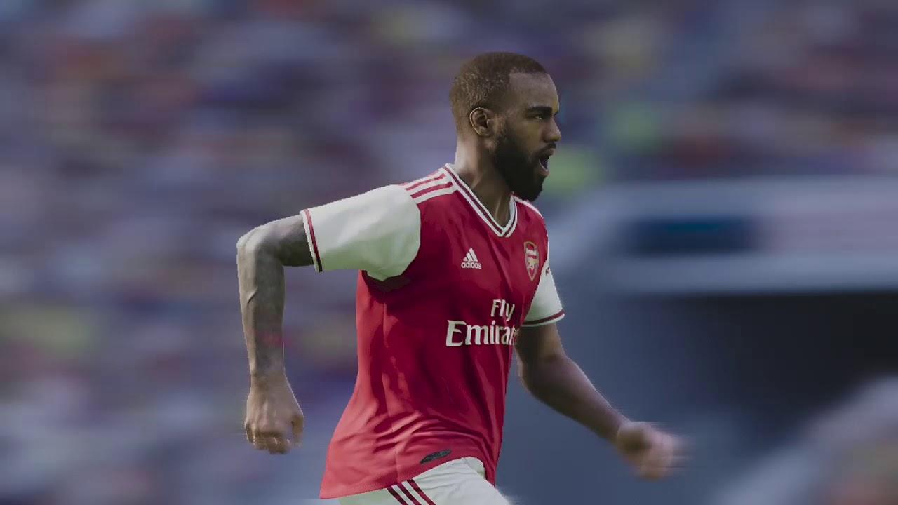 Arsenal vs. Burnley (1/2) - English League (PES 2020 ...