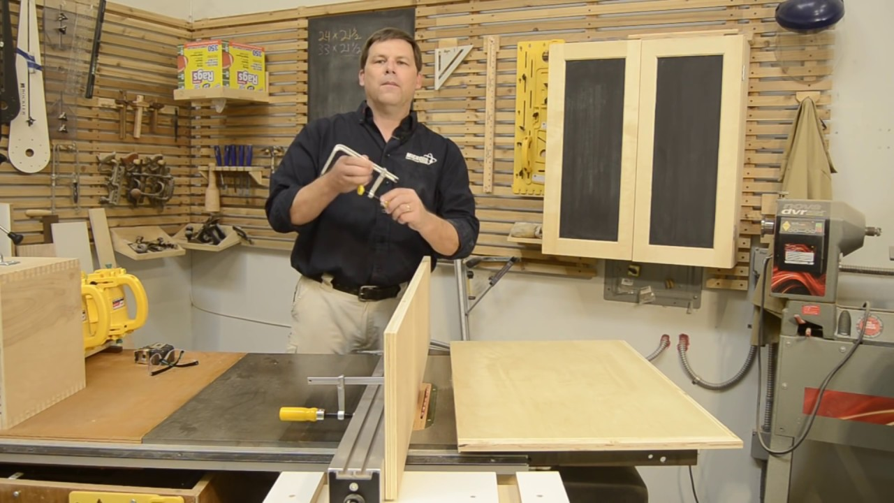 Tall Table Saw Fence with 15-Minute Project Plans using