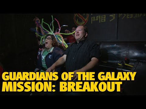 Guardians of the Galaxy - Mission: BREAKOUT! with Tom & Mary Jo | Disney California Adventure