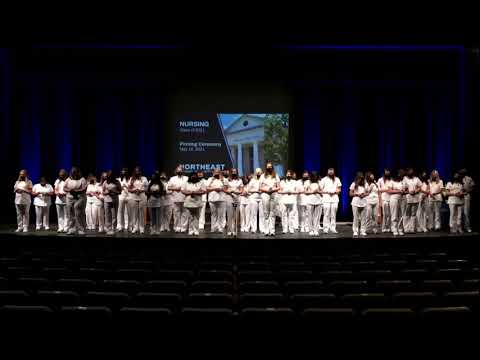 2021 Northeast Alabama Community College Nursing Pinning Ceremony