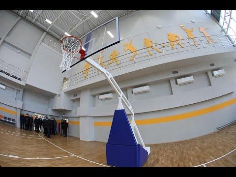 В Челябинске построили современный спорткомплекс для полицейских