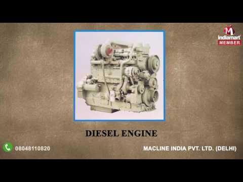 Machine Spare Parts And Pavers Machine By Macline India Pvt. Ltd., Delhi