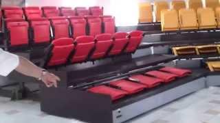 видео Телескопическая трибуна