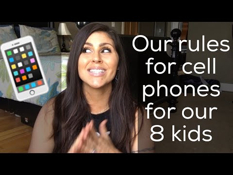 Cell Phones and Teens | Rules and Hacks for Moms