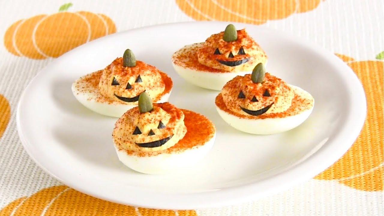 foto How to Make Pumpkin Deviled Eggs