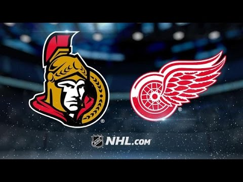 Ottawa Senators vs Detroit Red Wings NHL Game Recap