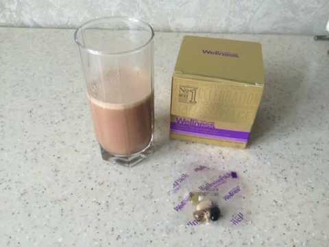 Welness - завтрак.  Коктейль ванильный без регистрации и смс